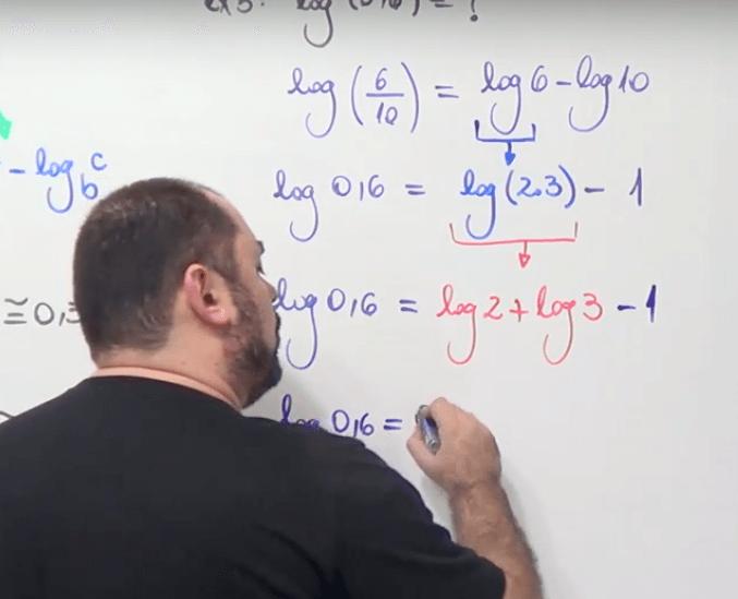 Logaritmos no Pense Matemática